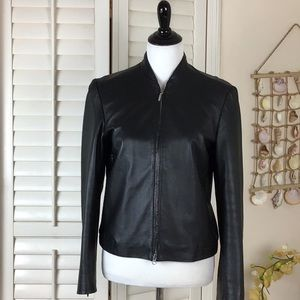 Old Navy Genuine Leather Jacket Size S